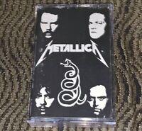 Metallica – Metallica. Enter Sandman, Black Album... VG Cassette Tape. 1TAKT