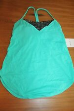 Lululemon Roll Out Tank Bali Breeze  NWT SZ 4 XS bra top light Luon sold out