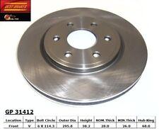 Disc Brake Rotor fits 2009-2012 Suzuki Equator  BEST BRAKES USA