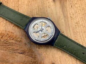 Swatch Originals Automatic SAN102 Baru Brand New! 1993 NOS! B&P&Tag RARE!