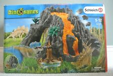 More details for schleich 42305 dinosaur volcano & 42261 dinosaur cave - boxes included.