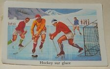 Ancienne Image du type Bon Point : HOCKEY sur GLACE - Sport EDITIONS EDUCATIVES