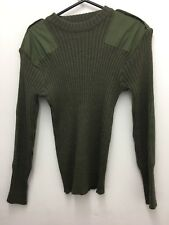 army surplus/military Jumper/pullover Chest 42. 106 Olive Green With Para Badge