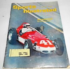 May 29, 1961  Sports Illustrated, Magazine, Auto Racing, Indianapolis 500