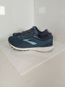 Brooks Ghost 12 Mens Running Trainers / Size UK 9.5 / Navy / VGC