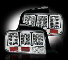 RECON 2005-2009 Ford Mustang Clear Lens LED Rear Left & Right Tail Light Set