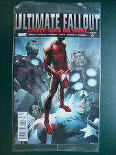 MARVEL, ULTIMATE FALLOUT #4, 2011, MILES MORALES, 1ST PRINT