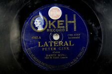 Fred W. Hager - Okeh 78 RPM - Peter Gink / /Russian Rag A19