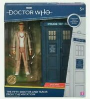5th DR WHO- DOCTOR & TARDIS THE VISITATION COLLECTOR FIGURE SET Brand new Rare
