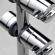Adjustable ABS Chrome Shower Rail Head Slider Holder Bracket Slide Clamp Tool
