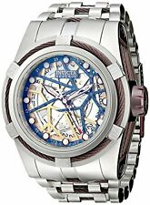 Invicta Men's 13761 Bolt Reserve Automatic Silver Tone Dial Stainless Steel Watc
