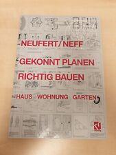 Gekonnt planen - richtig bauen: Haus - Wohnung - Garten | Neufert / Neff