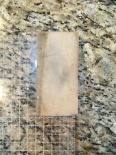 Vintage Oilstone whetstone Sharpening Stone Razor Hone Arkansas Washita Transluc