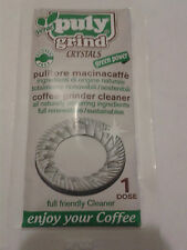 PULY Verde Grind Coffee Grinder Cleaner Crystals 1 x 15g Single Dose Use Sachet