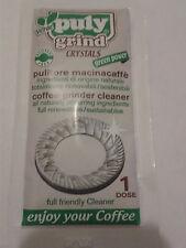 PULY Verde Grind Coffee Grinder Cleaner Crystals 1 x 15g Single Dose Use Sachet