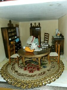 Vintage Dollhouse COLONIAL TIME PERIOD GREAT CONDITION LOT