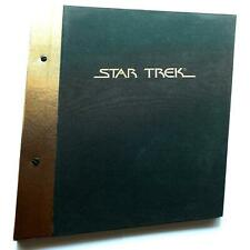Star Trek Rare Merchandise Licencee Book 1992 Official Paramount Pictures