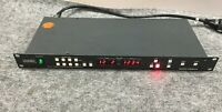 Ocean Matrix omx-VG4X4 4x4 matrix audio switcher w Power Cord