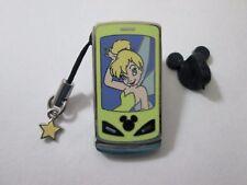 Tinker Bell Tinkerbell Cell Phone Slider & Dangle Charm Disney Pin