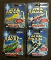 Star Wars Attack of The Clones Force Link Jango Zam Obi Anakin Sound Effects Lot