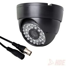 Wide Angle Surveillance Security Camera 48 LED IR Color CCD Indoor Dome CCTV
