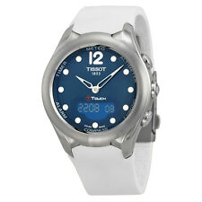 Tissot T-Touch Solar Blue Dial Ladies Watch T0752201704700