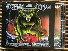 FLOTSAM And JETSAM DOOMSDAY for the DECEIVER 2 x cd + DVD RARE 3984145902 METAL