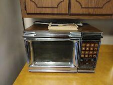 Amana Touchmatic II Radarange Vintage Microwave With Book