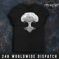 Tree Of Life T Shirt Mother Earth Green Druid Wicca Pagan Celtic Gardener Nature