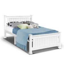 Artiss King Single Wooden Bed Frame Rio Timber Kids Adults Bedroom Mattress Base