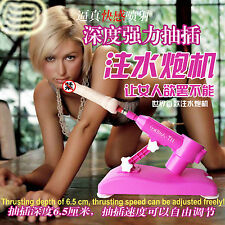 @Best Automatic Sexy Machine SUPER SET  New Water Injection 1 Attachment Gunlock
