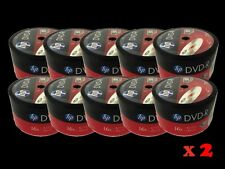1000 Pieces HP Logo 16X DVD-R DVDR Recordable Blank Disc FREE EXPEDITED SHIPPING