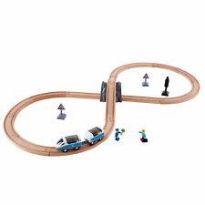 Hape E3729 Figure De 8 sécurité Train Railway Track set en bois enfants Jouet Ag...