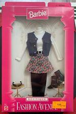 BARBIE ~ Fashion Avenue Boutique ~ Outfit Floral Skirt Vest Sunglasses Boots NIB