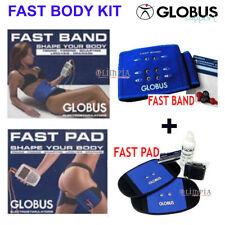 GLOBUS - FAST BODY KIT ( Fast Band + Fast Pad ) ELETTRODI ADDOME GLUTEI SCHIENA