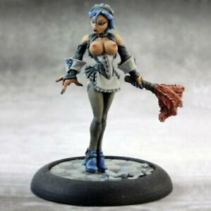 Reaper Chronoscope 50084 Brigitte Naughty French Maid Fantasy Bloodweiser Babe
