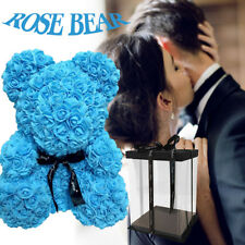 40cm Blue Giant Large Rose Bear Multi Style Creative Gift Valentine's Day NEW