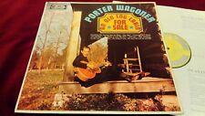 PORTER WAGONER - AN OLD LOG CABIN FOR SALE - BARELY USED UK MONO ORIGINAL LP
