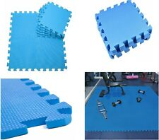 Interlocking Soft EVA Foam Play Mat Kids Gymnastic Yoga Fitness Floor Tiles Blue