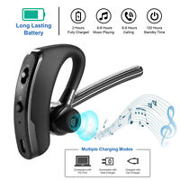 Wireless Noise Cancelling Trucker Headset Earpiece Earbud For Driving