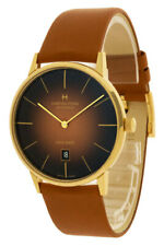 Hamilton H38735501 Jazzmaster Intra-matic 42mm Men's Brown Leather Watch