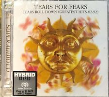TEARS FOR FEARS - TEARS ROLL DOWN GREATEST HITS 82-92 (SACD) MADE IN JAPAN
