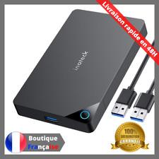 Inateck Boîtier Disque dur Externe 2.5 pouce USB 3.0 SuperSpeed UASP PC Mac