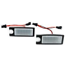 2X No Error Led Number License Plate Light For VOLVO V70 CX70 S60 S80 XC90 Dr