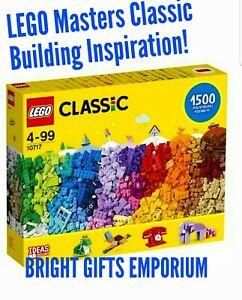 LEGO Masters 2021 Set 10717 CLASSIC CREATIVE BOX 1500 Pcs Bulk Lot Preschool NEW