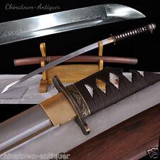 94 Type Sabre Samurai Sword Katana Kobuse Jihada Forged Pattern Steel Blade#2383