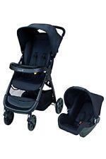 Travel System Passeggino Ovetto Amble Full Black Safety 1st 7640