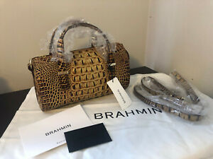 NWT Brahmin- Claire- Toasted Almond Melbourne Leather