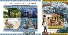 Solomon Islands Art Museum d'Orsay Paris Impressionists Artworks MNH stamp set