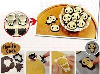 Creative Panda Cake Candy Cookies Chocolate Baking Tool Mold Decorating Mould KI